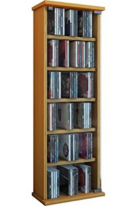"CD Regale ♥ VCM Regal DVD CD Rack  ""Vetro"" ♥ 6 x Fächer ♥ 1 x ESG Glastür"