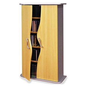cd regal mit t r cd und dvd regale online st bern regal mit schubladen. Black Bedroom Furniture Sets. Home Design Ideas