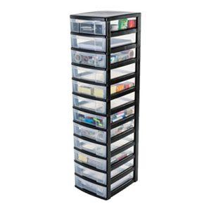 Regal mit Schubladen ♥ IRIS, Schubladenschrank / Schubladenbox / Rollwagen / Rollcontainer / Werkzeugschrank 'New Chest', NMC-012 ♥