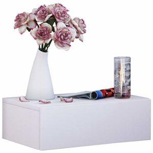 Regal mit Schubladen ♥ VCM Wand Nachttisch Wandschublade ♥